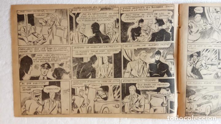 Tebeos: LA SOMBRA JUSTICIERA ORIGINAL 34 TEBEOS - EDI. FERMA 1954 - VER TODAS LAS PORTADAS - Foto 106 - 236655090