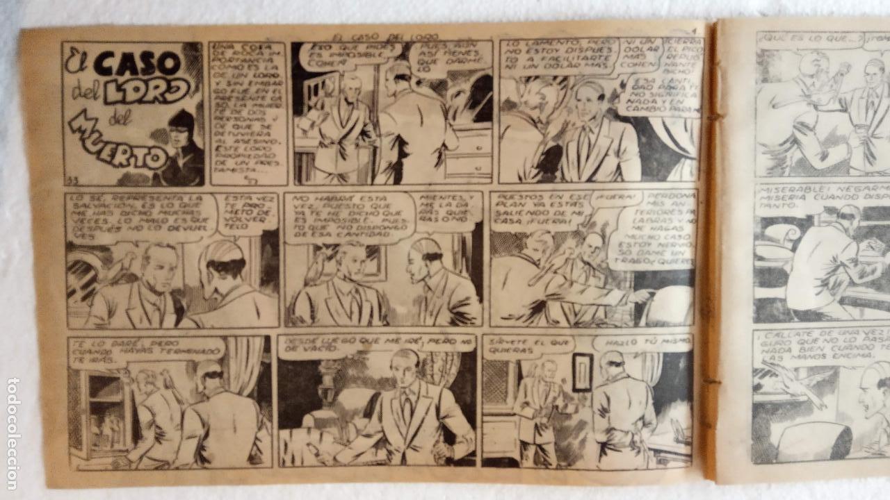 Tebeos: LA SOMBRA JUSTICIERA ORIGINAL 34 TEBEOS - EDI. FERMA 1954 - VER TODAS LAS PORTADAS - Foto 111 - 236655090