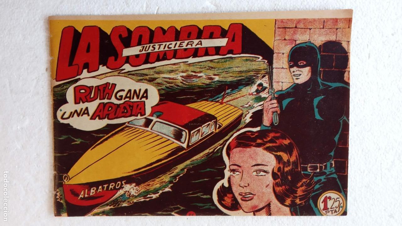 Tebeos: LA SOMBRA JUSTICIERA ORIGINAL 34 TEBEOS - EDI. FERMA 1954 - VER TODAS LAS PORTADAS - Foto 113 - 236655090
