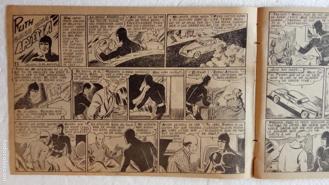 Tebeos: LA SOMBRA JUSTICIERA ORIGINAL 34 TEBEOS - EDI. FERMA 1954 - VER TODAS LAS PORTADAS - Foto 115 - 236655090