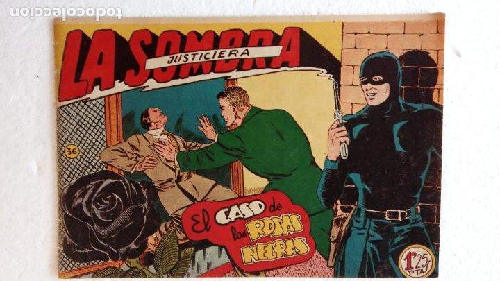 Tebeos: LA SOMBRA JUSTICIERA ORIGINAL 34 TEBEOS - EDI. FERMA 1954 - VER TODAS LAS PORTADAS - Foto 117 - 236655090