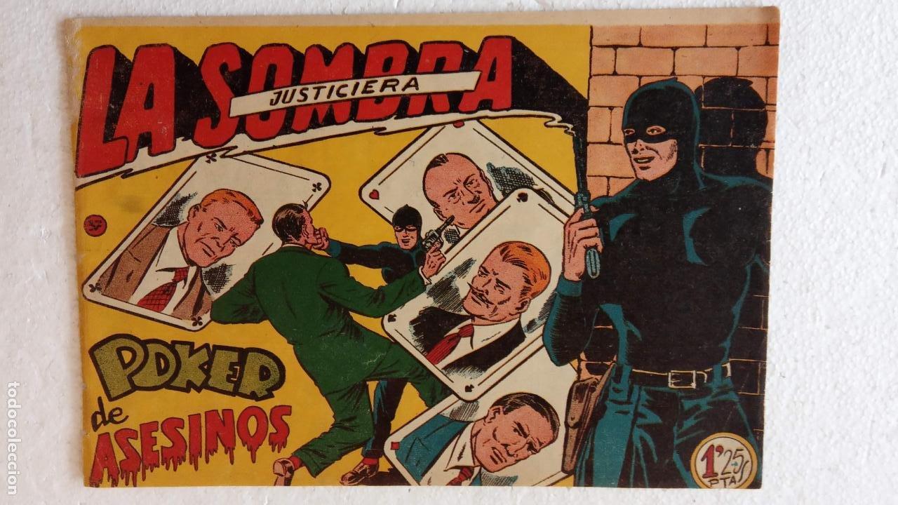 Tebeos: LA SOMBRA JUSTICIERA ORIGINAL 34 TEBEOS - EDI. FERMA 1954 - VER TODAS LAS PORTADAS - Foto 126 - 236655090