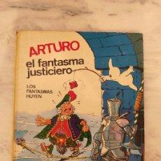 Tebeos: ARTURO EL FANTASMA JUSTICIERO. LOS FANTASMAS HUYEN. CEZARD. FERMA AÑOS 70 RARO B.E.. Lote 237396745