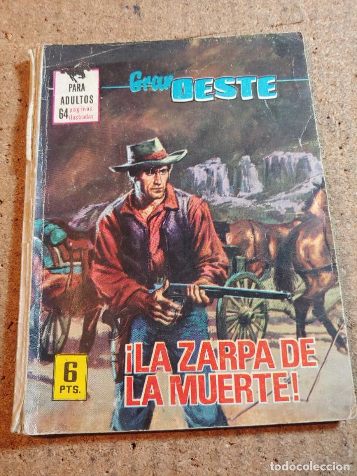 COMIC GRAN OESTE EN LA ZARPA DE LA MUERTE DEL AÑO 1969 Nº 413 (Tebeos y Comics - Ferma - Gran Oeste)