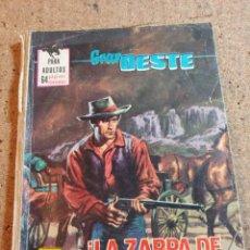 Tebeos: COMIC GRAN OESTE EN LA ZARPA DE LA MUERTE DEL AÑO 1969 Nº 413. Lote 237418565