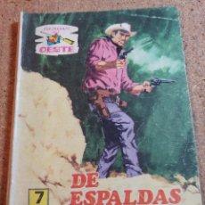 Tebeos: COMIC SENDAS DEL OESTE EN DE ESPALDAS A LA LEY DEL AÑO 1962 Nº 333. Lote 237418600