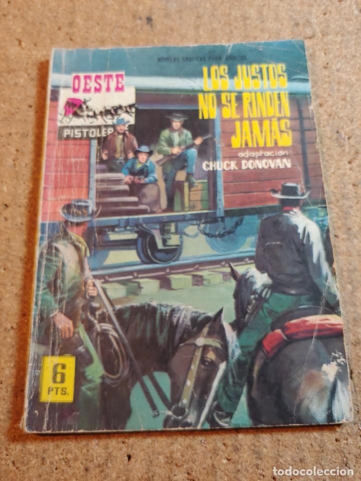 COMIC DEL OESTE EN LOS JUSTOS NO SE RINDEN JAMAS DEL AÑO 1965 Nº 54 (Tebeos y Comics - Ferma - Otros)