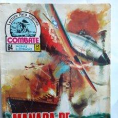 Tebeos: COMBATE- NOVELA GRÁFICA SEMANAL- Nº 26 -MANADA DE TIBURONES-ÚNICO EN TC-CASI BUENO-1975-LEAN-4293. Lote 239600880