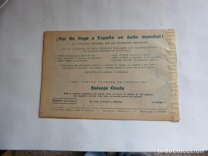 Tebeos: DAVY CROCKETT Nº 1 FERMA ORIOGINAL - Foto 2 - 239602580