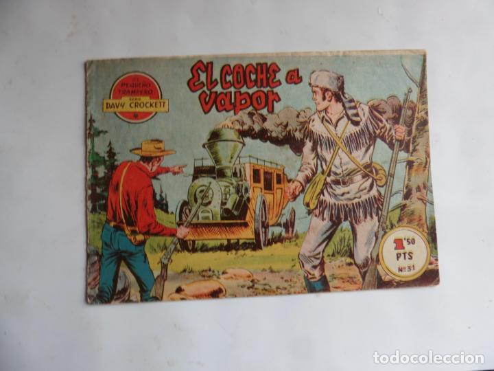 DAVY CROCKETT Nº 31 ULTIMO DE LA COLECCION FERMA ORIOGINAL (Tebeos y Comics - Ferma - Otros)