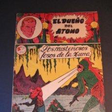 Tebeos: DUEÑO DEL ATOMO, EL (1957, FERMA) 30 · 1957 · LOS MISTERIOSOS FOSOS DE LA TIERRA. Lote 241344480