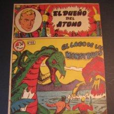 Tebeos: DUEÑO DEL ATOMO, EL (1957, FERMA) 11 · 1957 · EL LAGO DE LOS MONSTRUOS. Lote 241364290