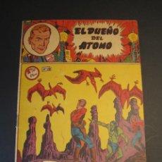 Tebeos: DUEÑO DEL ATOMO, EL (1957, FERMA) 28 · 1957 · EN LAS ENTRAÑAS DE LA TIERRA. Lote 241365780