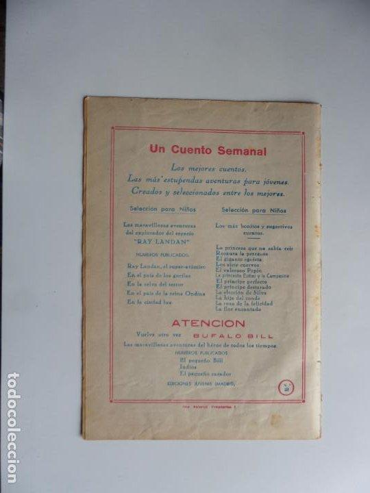 Tebeos: AVENTURAS DE BUFFALO BILL Nº 2 FERMA 1950 ORIGINAL - Foto 2 - 241880750