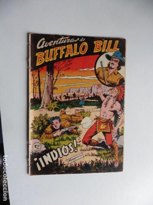 AVENTURAS DE BUFFALO BILL Nº 2 FERMA 1950 ORIGINAL (Tebeos y Comics - Ferma - Otros)