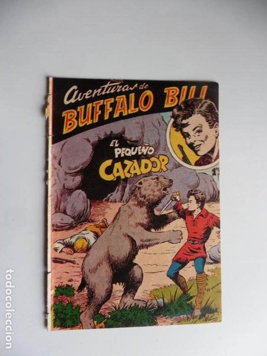AVENTURAS DE BUFFALO BILL Nº 3 FERMA 1950 ORIGINAL (Tebeos y Comics - Ferma - Otros)