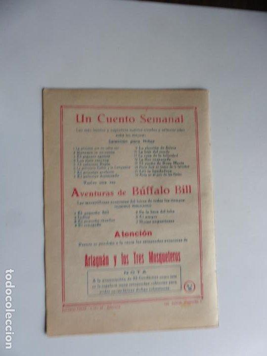 Tebeos: AVENTURAS DE BUFFALO BILL Nº 6 FERMA 1950 ORIGINAL - Foto 2 - 241881990