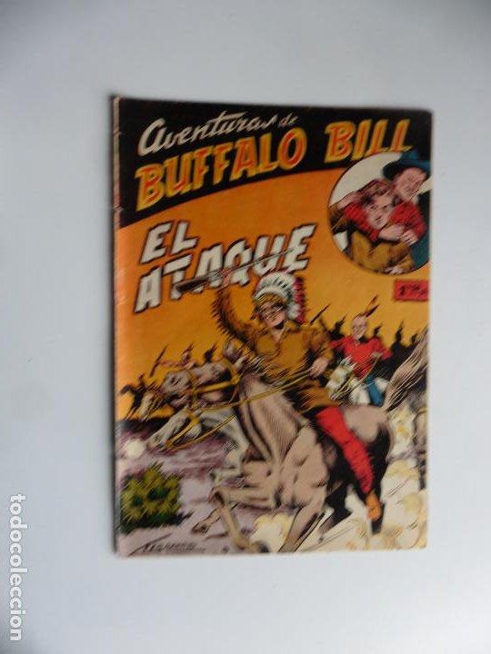 AVENTURAS DE BUFFALO BILL Nº 6 FERMA 1950 ORIGINAL (Tebeos y Comics - Ferma - Otros)