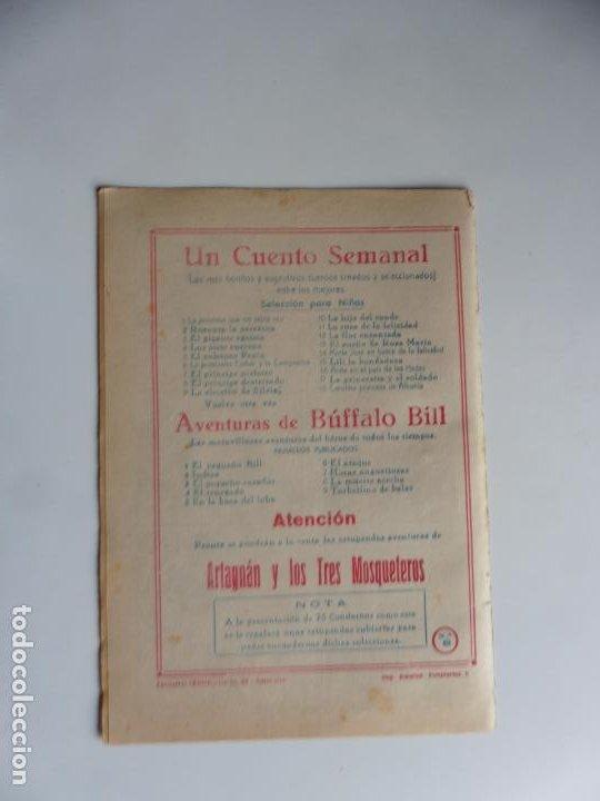 Tebeos: AVENTURAS DE BUFFALO BILL Nº 8 FERMA 1950 ORIGINAL - Foto 2 - 241882190