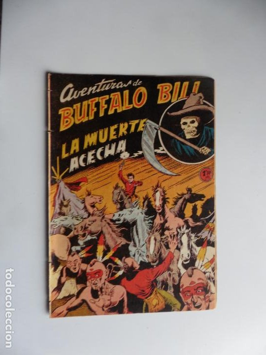AVENTURAS DE BUFFALO BILL Nº 8 FERMA 1950 ORIGINAL (Tebeos y Comics - Ferma - Otros)