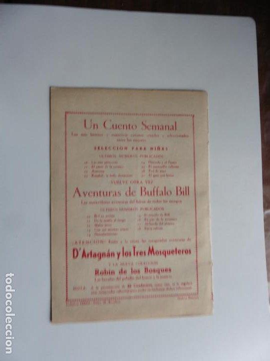 Tebeos: AVENTURAS DE BUFFALO BILL Nº 18 FERMA 1950 ORIGINAL - Foto 2 - 241883160