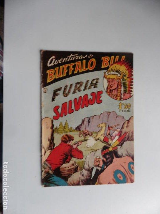 AVENTURAS DE BUFFALO BILL Nº 18 FERMA 1950 ORIGINAL (Tebeos y Comics - Ferma - Otros)