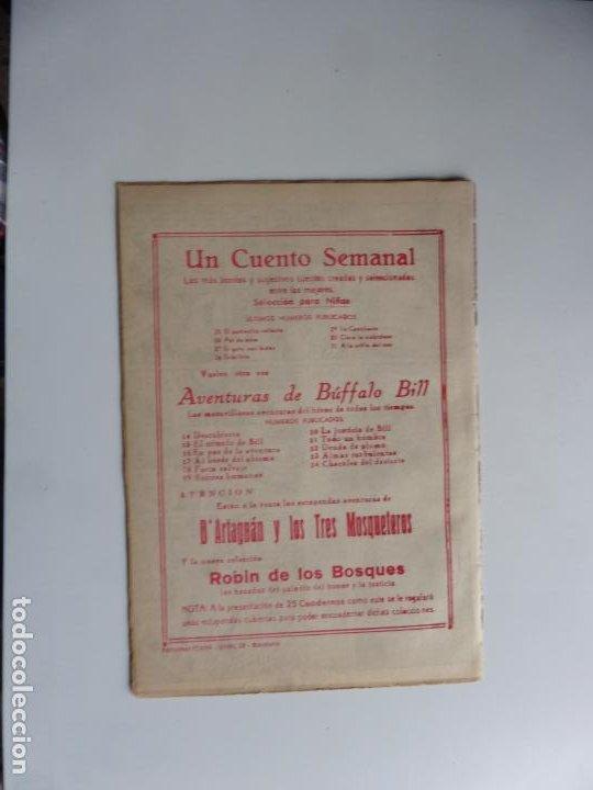 Tebeos: AVENTURAS DE BUFFALO BILL Nº 24 FERMA 1950 ORIGINAL - Foto 2 - 241883585