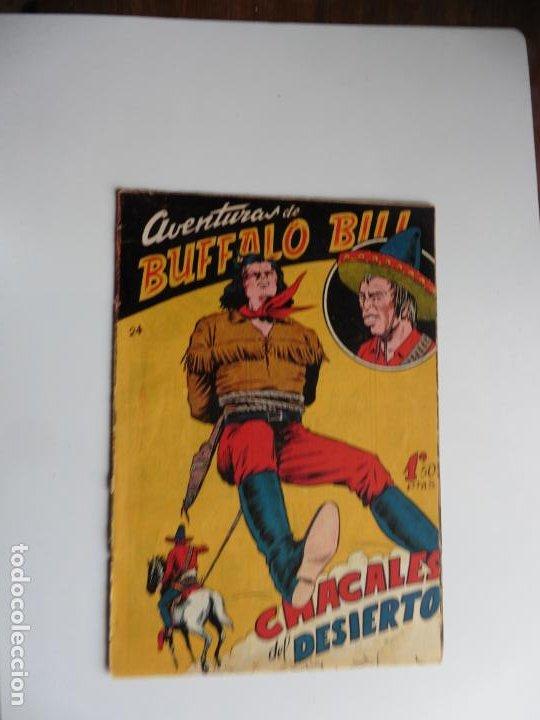 AVENTURAS DE BUFFALO BILL Nº 24 FERMA 1950 ORIGINAL (Tebeos y Comics - Ferma - Otros)