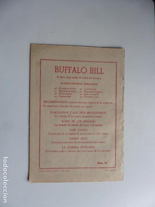 Tebeos: AVENTURAS DE BUFFALO BILL Nº 33 FERMA 1950 ORIGINAL - Foto 2 - 241884045