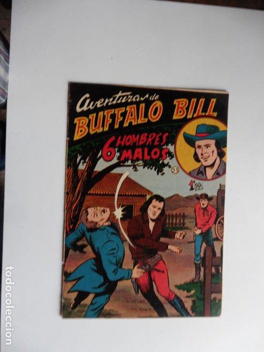AVENTURAS DE BUFFALO BILL Nº 33 FERMA 1950 ORIGINAL (Tebeos y Comics - Ferma - Otros)