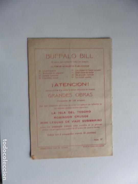 Tebeos: AVENTURAS DE BUFFALO BILL Nº 37 FERMA 1950 ORIGINAL - Foto 2 - 241884385