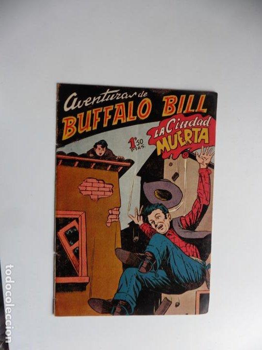 AVENTURAS DE BUFFALO BILL Nº 37 FERMA 1950 ORIGINAL (Tebeos y Comics - Ferma - Otros)