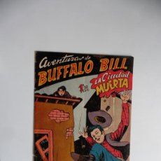 Tebeos: AVENTURAS DE BUFFALO BILL Nº 37 FERMA 1950 ORIGINAL. Lote 241884385