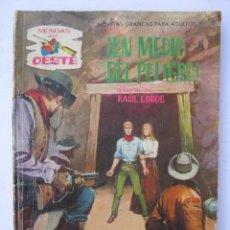 Tebeos: SENDAS DEL OESTE - Nº 152 - EN MEDIO DEL PELIGRO - EDITORIAL FERMA.. Lote 243600590