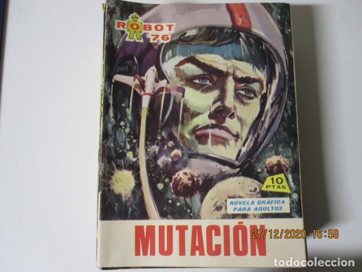 ROBOT 76 MUTACION NUM 14 EDI FERMA 1967 (Tebeos y Comics - Ferma - Otros)