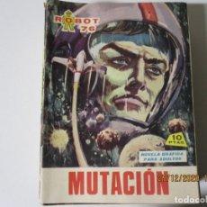 Tebeos: ROBOT 76 MUTACION NUM 14 EDI FERMA 1967. Lote 244451710