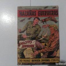 Tebeos: HAZAÑAS GUERRERAS Nº11. Lote 245218695