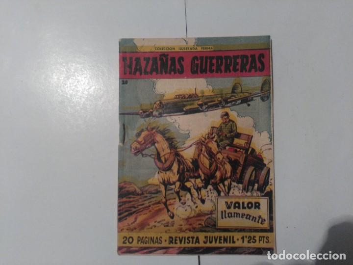 HAZAÑAS GUERRERAS Nº20 (Tebeos y Comics - Ferma - Otros)