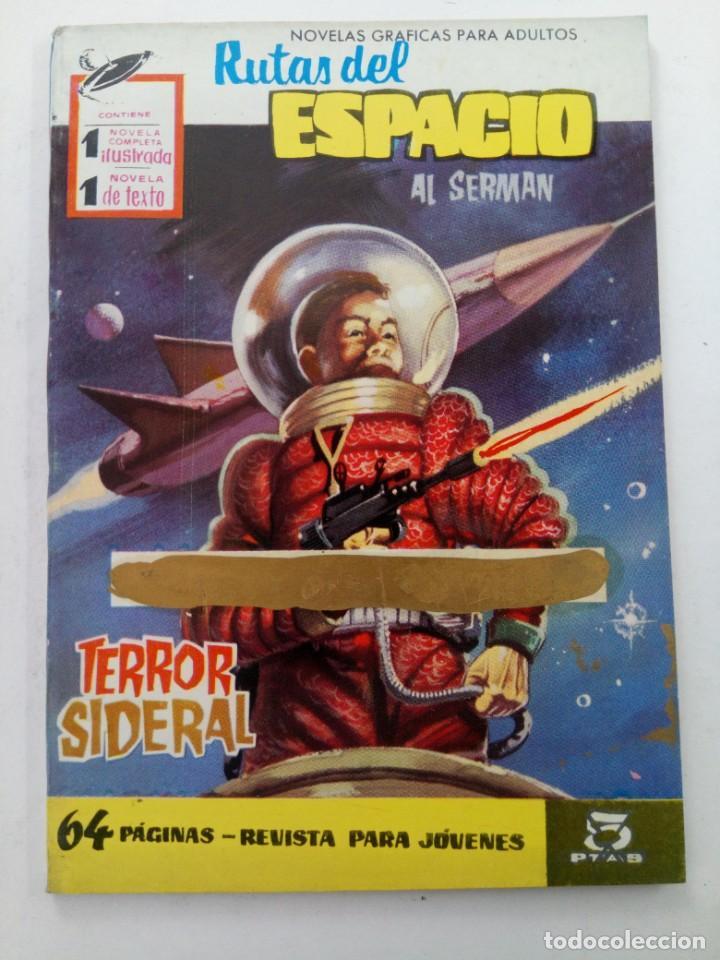 RUTAS DE ESPACIO - TERROR SIDERAL - AL SERMAN - EDITORIAL FERMA (Tebeos y Comics - Ferma - Otros)