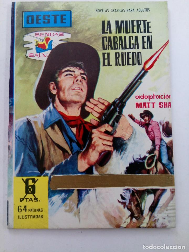 OESTE - LA MUERTE CABALGA EN EL RUEDO - EDITORIAL FERMA (Tebeos y Comics - Ferma - Otros)