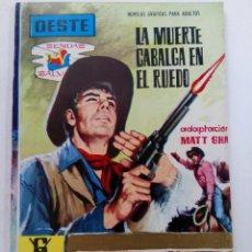 Tebeos: OESTE - LA MUERTE CABALGA EN EL RUEDO - EDITORIAL FERMA. Lote 245373125