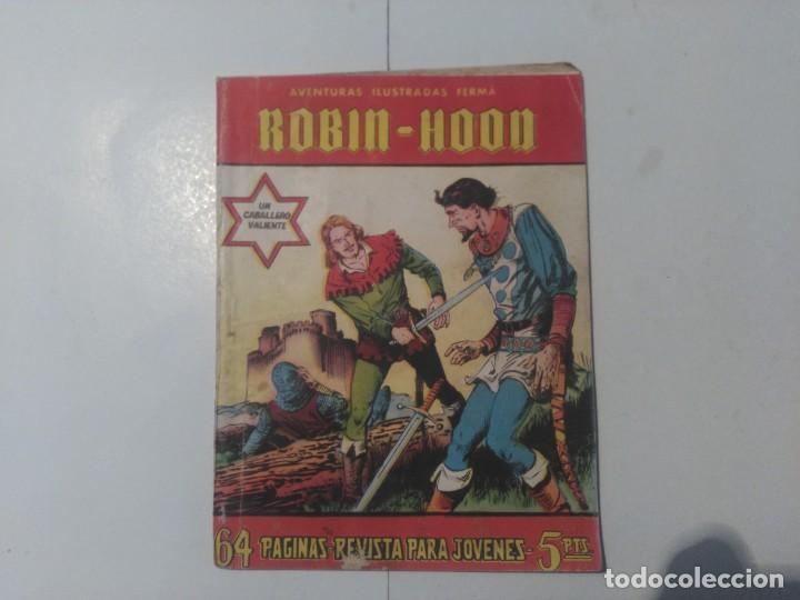 AVENTURAS ILUSTRADAS FERMA ROBIN-HOOD (Tebeos y Comics - Ferma - Otros)
