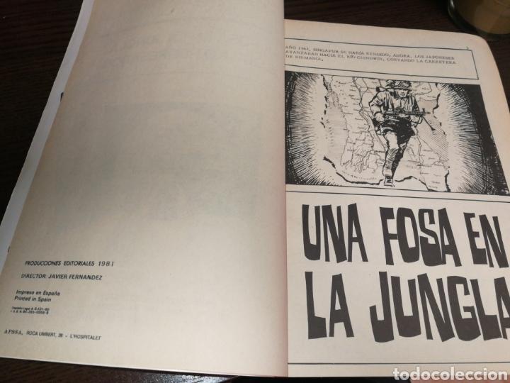 Tebeos: SELECCIONES GRÁFICAS DE GUERRA, COMBATE. AÑO 1981, MUY BUEN ESTADO. - Foto 4 - 248827175