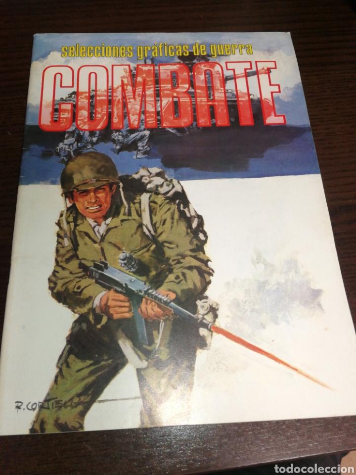 SELECCIONES GRÁFICAS DE GUERRA, COMBATE. AÑO 1981, MUY BUEN ESTADO. (Tebeos y Comics - Ferma - Combate)