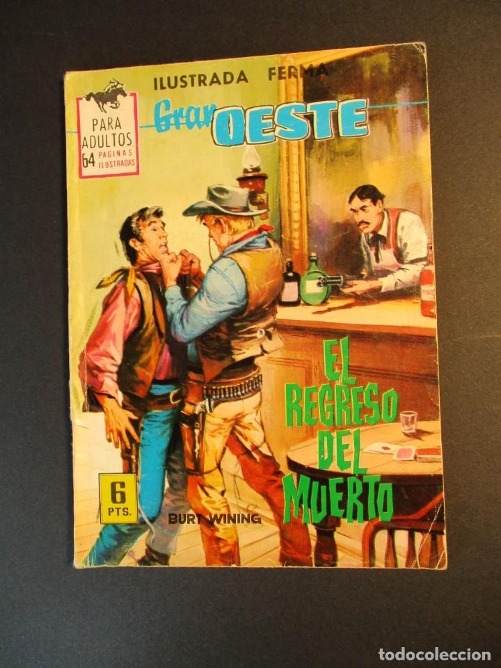 GRAN OESTE / MONTANA OESTE (1958, FERMA) 310 · 23-IV-1964 · EL REGRESO DEL MUERTO (Tebeos y Comics - Ferma - Gran Oeste)