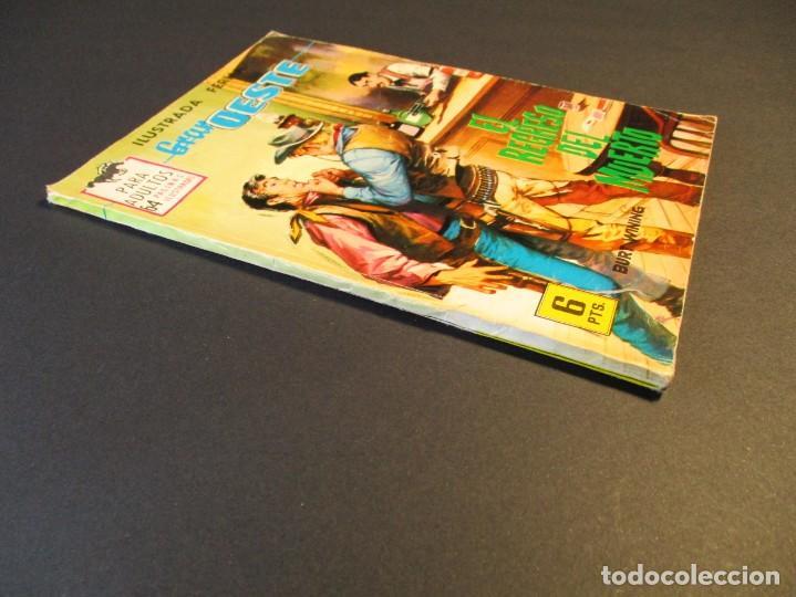 Tebeos: GRAN OESTE / MONTANA OESTE (1958, FERMA) 310 · 23-IV-1964 · EL REGRESO DEL MUERTO - Foto 2 - 249025030