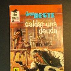 Tebeos: GRAN OESTE / MONTANA OESTE (1958, FERMA) 391 · 11-XI-1965 · GRAN OESTE. Lote 249031130
