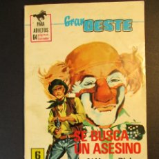 Tebeos: GRAN OESTE / MONTANA OESTE (1958, FERMA) 392 · 18-XI-1965 · GRAN OESTE. Lote 249031655