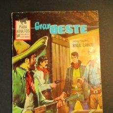 Tebeos: GRAN OESTE / MONTANA OESTE (1958, FERMA) 325 · 6-VIII-1964 · GRAN OESTE. Lote 249032025