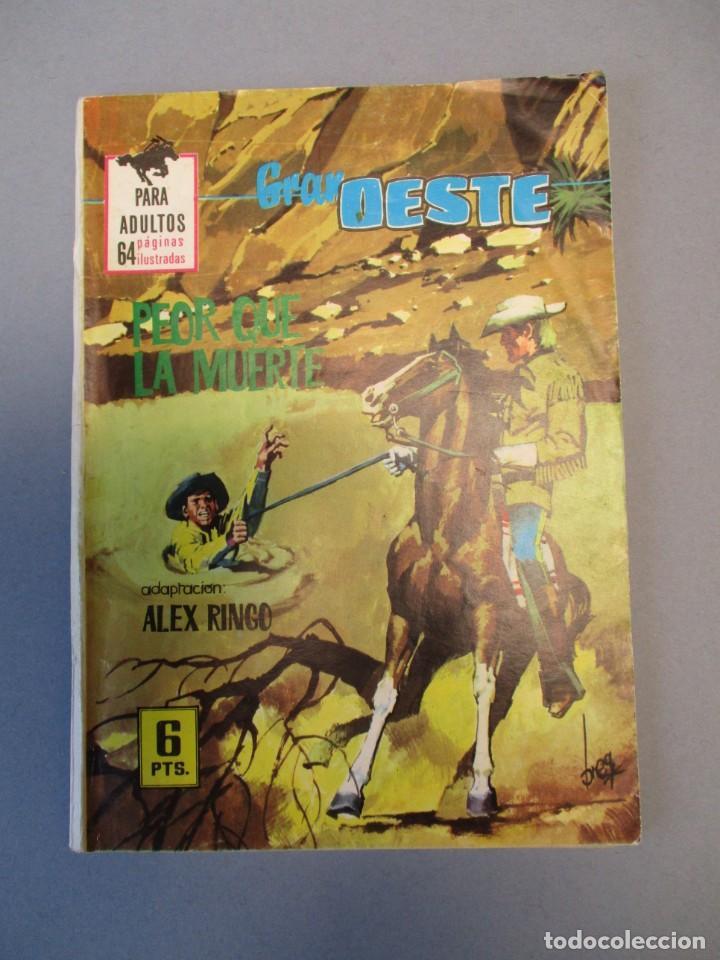 GRAN OESTE / MONTANA OESTE (1958, FERMA) 384 · 23-IX-1965 · GRAN OESTE (Tebeos y Comics - Ferma - Gran Oeste)